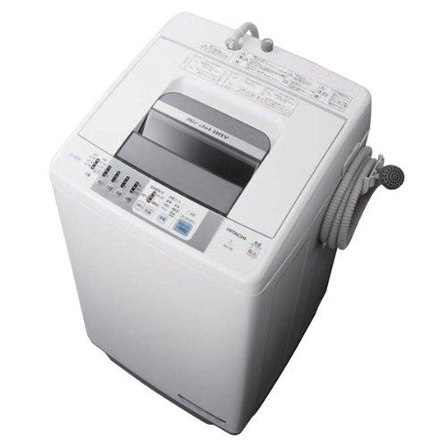 日立 7.0kg全自動洗濯機 白い約束 シルバー NW-Z78S