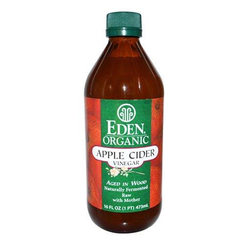 有機アップルサイダービネガー 473ml | JAS認定オーガニック EDEN ORGANIC Apple Cider Vinegar アリサン りんご酢
