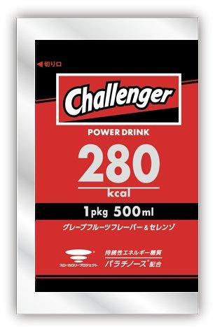 Challenger POWER DRINK グレープフルーツフレーバー&セレンゾ パラチノーズ配合