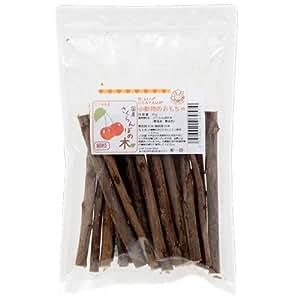 国産 さくらんぼの木 細枝 70g かじり木 小動物用のおもちゃ