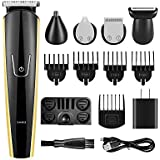 Multigroom 5 IN 1 Beard Trimmer,Hair Clipper with Li-ion Battery, Fast USB Charge, Long-Lasting Use
