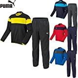 プーマ PUMA トレーニングウェア サッカーピステ 上下セット メンズ 654810/654813 0101:ブラック×ブラック M