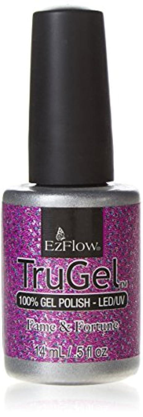 能力枯渇する能力EzFlow TruGel Gel Polish - Fame & Fortune - 0.5oz / 14ml