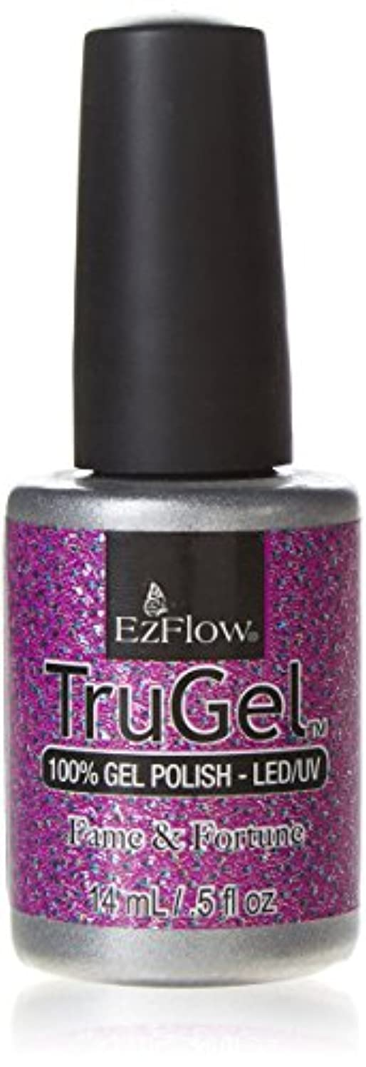 安定しました喉が渇いた引くEzFlow TruGel Gel Polish - Fame & Fortune - 0.5oz / 14ml