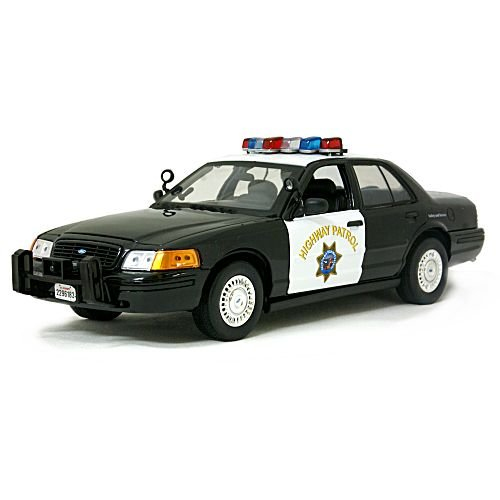 California Highway Patrol BK Ford Crown Victoria 1/18 Motor Max