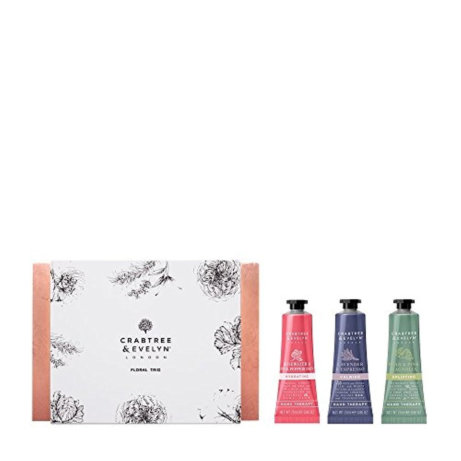 会計士放映ソーシャルクラブツリー&イヴリン Floral Hand Therapy Trio (1x Pear & Pink Magnolia, 1x Rosewater & Pink Peppercorn, 1x Lavender & Espresso) 3x25ml/0.86oz並行輸入品