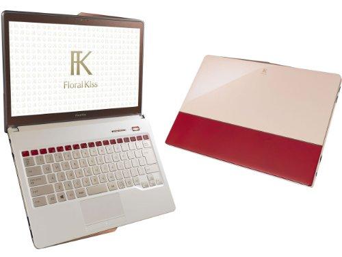 FUJITSU / 富士通 FMV LIFEBOOK Floral Kiss CH75/R FMVC75RR  Elegant Red with Beige   ノートパソコン