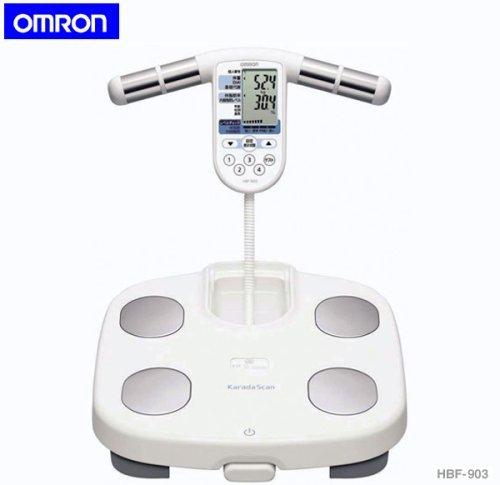 OMRONオムロン 体重体組成計HBF-903 体重計 両手...