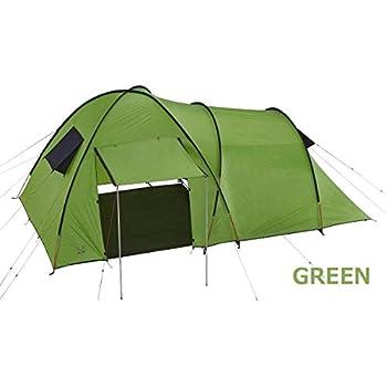 fraser-3 302037 302036 ドームとトンネルが合わさったテント 3人用 (グリーン)