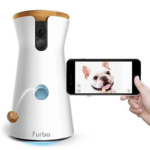 Furbo ドッグカメラ 飛び出すおやつ 写真 動画撮影 2Wayオーディオ iOS Android 対応