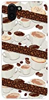 液晶保護フィルム 付 アクオス アールツー AQUOS R2 SH-03K SHV42 706SH docomo au SoftBank ハードカバー ケース コーヒーとコーヒー豆 スマホケース スマホカバー デザインケース