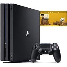 PlayStation 4 Pro ジェット・ブラック 1TB (CUH-7200BB01) 【特典】 オリジナルカスタムテーマ (配信)
