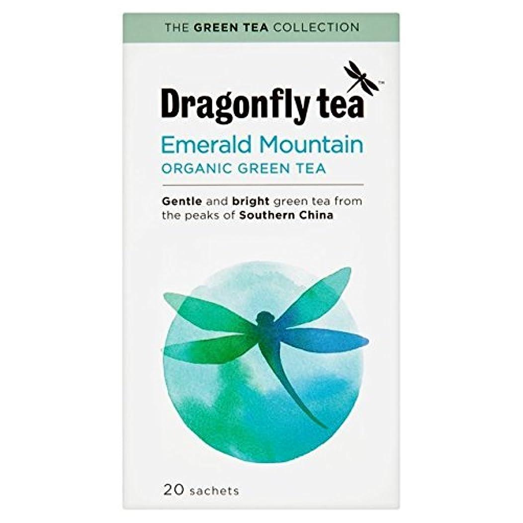 気味の悪い強化する怖がらせる有機カップ?イン?スリーブ緑茶20は、パックごとにトンボ - Dragonfly Organic Cup-in-the-Sleeve Green Tea 20 per pack [並行輸入品]