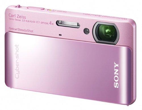ソニー デジタルカメラ Cybershot TX5 (1020万画素CMOS/光学x4/ピンク) DSC-TX5/P