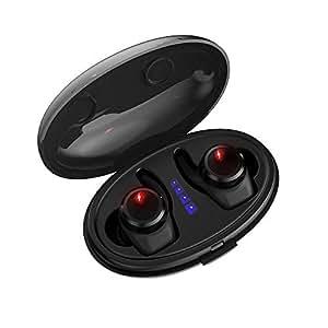 完全 ワイヤレス 防水 Bluetooth イヤホン TIAMAT ブルートゥース 4.2 高音質 充電ケース付き マイク付き 左右分離型 両耳 iPhone Android 対応 Thor