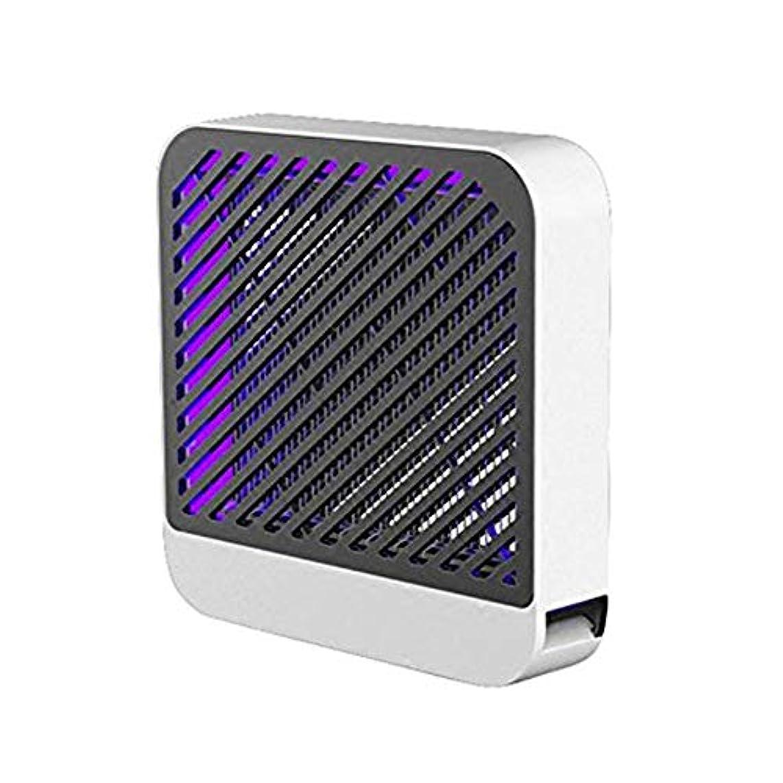 ライン体操トランザクションKJRJMW 紫外線LEDが付いている屋内はえ虫ランプの無毒無放射の無雑音電気はえトラップの蚊取り器300 * 300 * 70mmのはえ