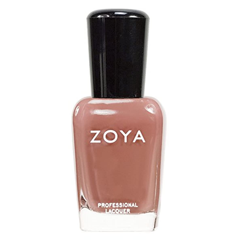 所得母性破産ZOYA ゾーヤ ネイルカラーZP139 FLOWIE フラーウィー 15ml 上品なライトブラウン マット 爪にやさしいネイルラッカーマニキュア