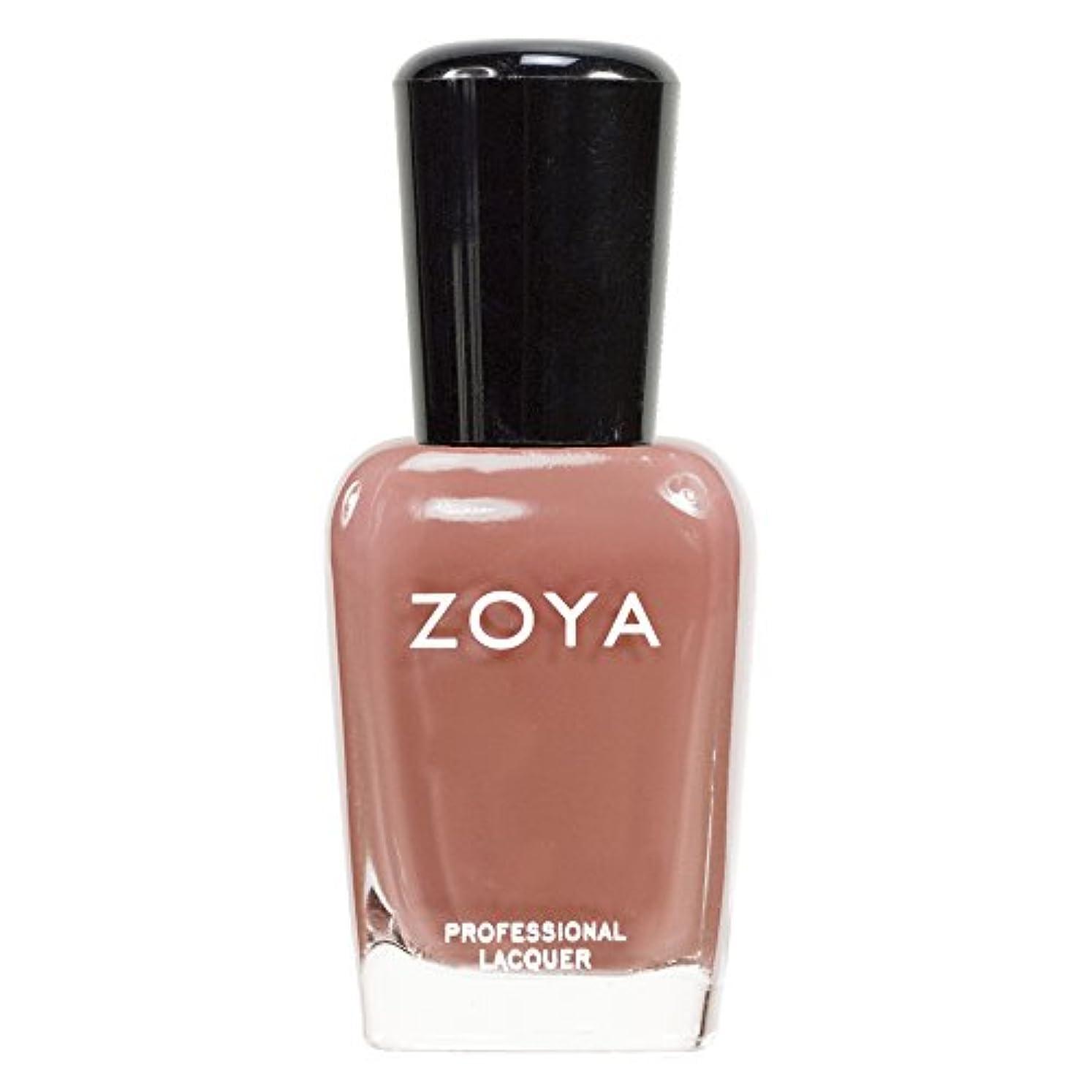 ZOYA ゾーヤ ネイルカラーZP139 FLOWIE フラーウィー 15ml 上品なライトブラウン マット 爪にやさしいネイルラッカーマニキュア