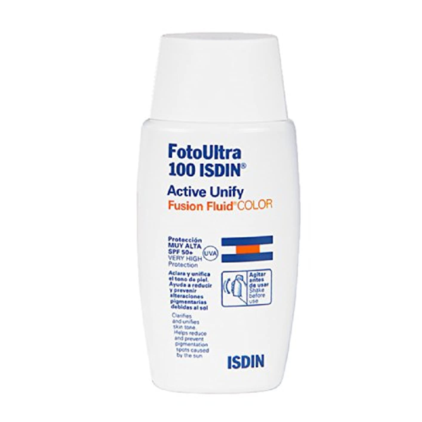 場合うがい普通にIsdin Foto Ultra 100 Active Unify Color Spf50+ 50ml [並行輸入品]