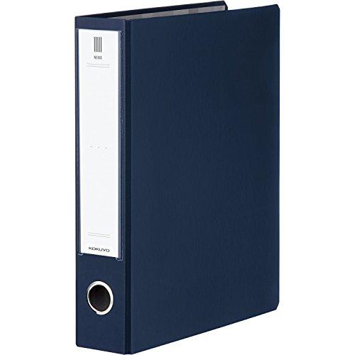 RoomClip商品情報 - コクヨ ファイル チューブファイル NEOS A4 50mm 2穴 ネイビー フ-NE650DB