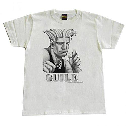 dune ストリートファイター? 【ガイル】Tシャツ ホワイト (S)