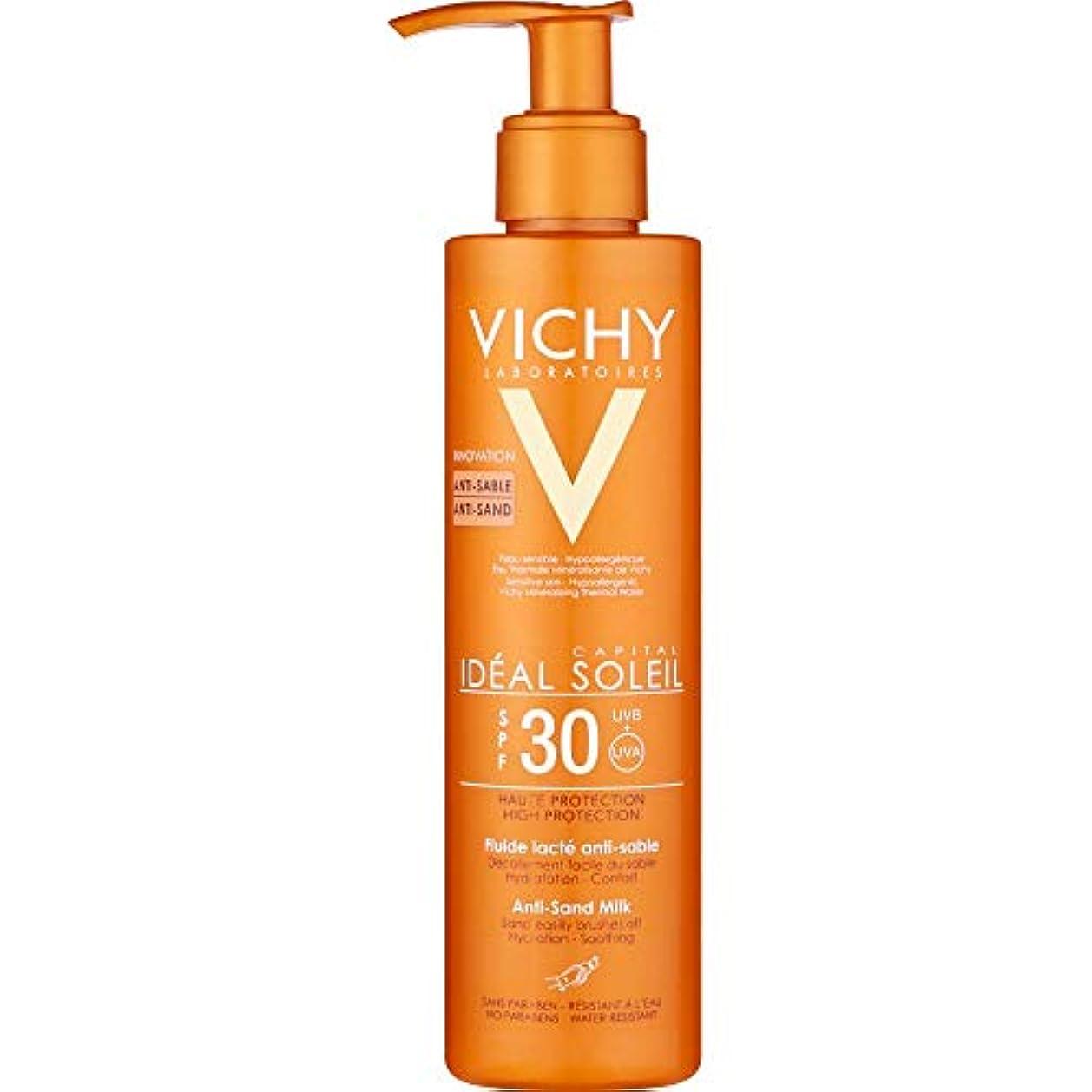 バックアップそのような縮約[Vichy] ヴィシー理想的ソレイユアンチ砂ミルクSpf30の200ミリリットル - Vichy Ideal Soleil Anti-Sand Milk SPF30 200ml [並行輸入品]