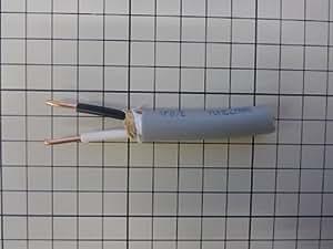 600Vビニル絶縁ビニルシースケーブル丸形2.0mm2心 約1m(1000mm) (VVR2.0mm2芯)