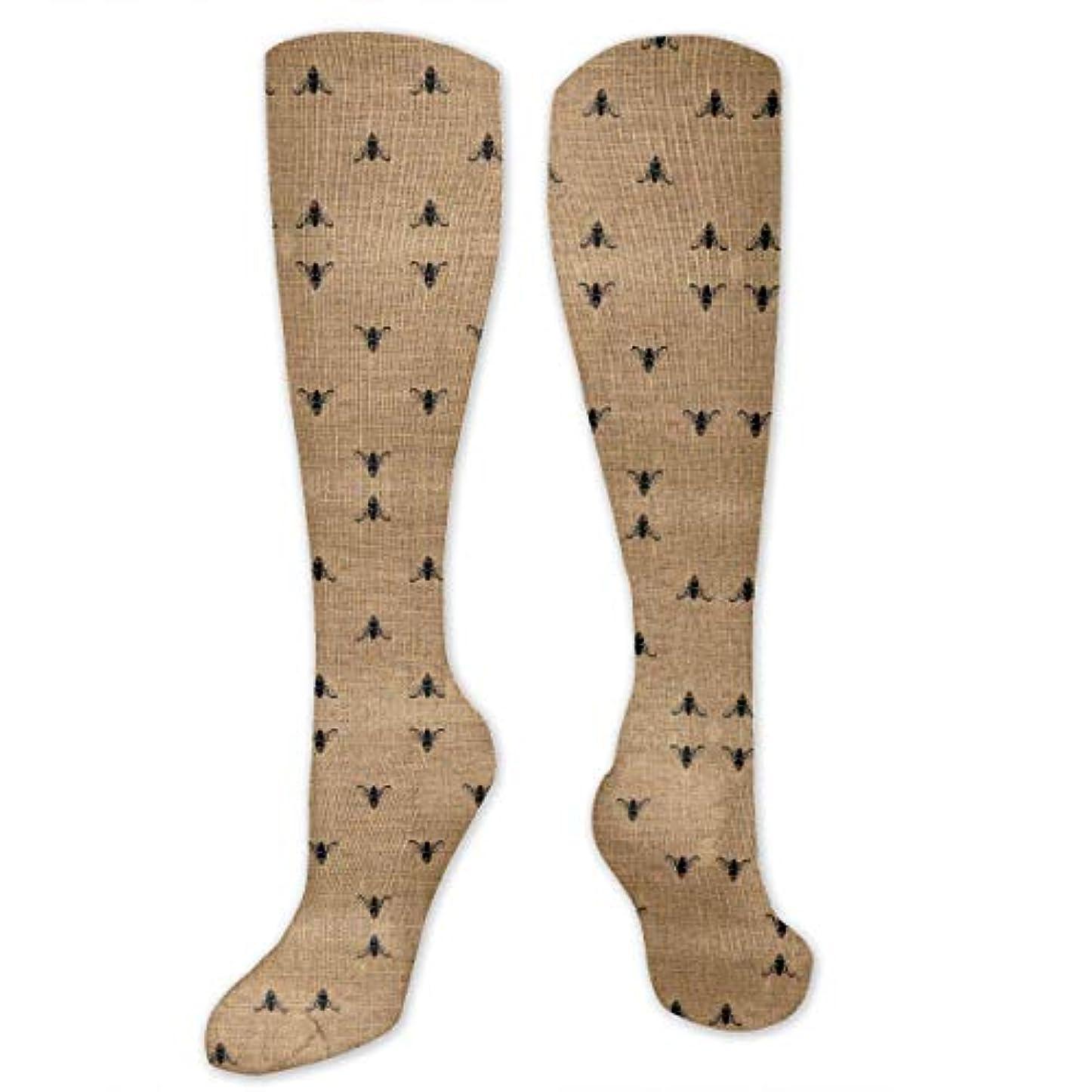ポップヒロイック出くわす靴下,ストッキング,野生のジョーカー,実際,秋の本質,冬必須,サマーウェア&RBXAA Women's Winter Cotton Long Tube Socks Knee High Graduated Compression...