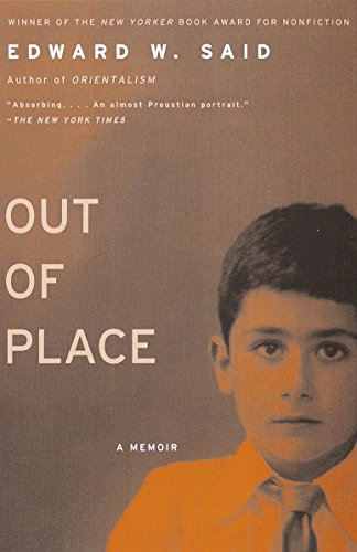 Out of Place: A Memoirの詳細を見る