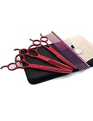 7.0インチペット用ハサミ、プロ用ペット用ハサミ。 理髪店/ペットショップや個人的な使用に適しています