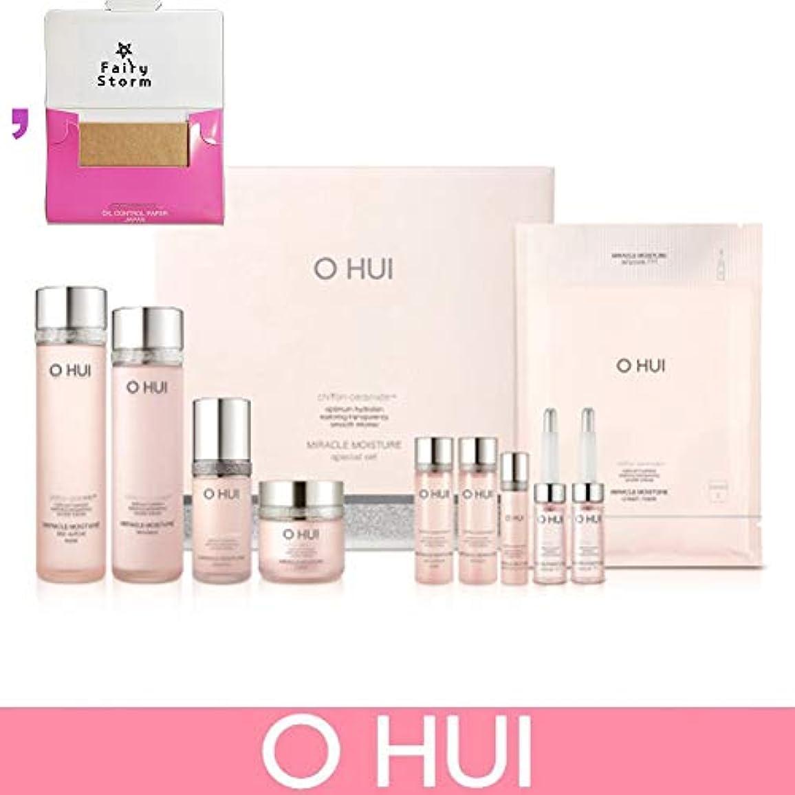 スーダン体操レイプ[オフィ/O HUI]韓国化粧品LG生活健康/Miracle Moisture 4 kinds of special set/ミラクルモイスチャー 4種のスペシャルセット+[Sample Gift](海外直送品)