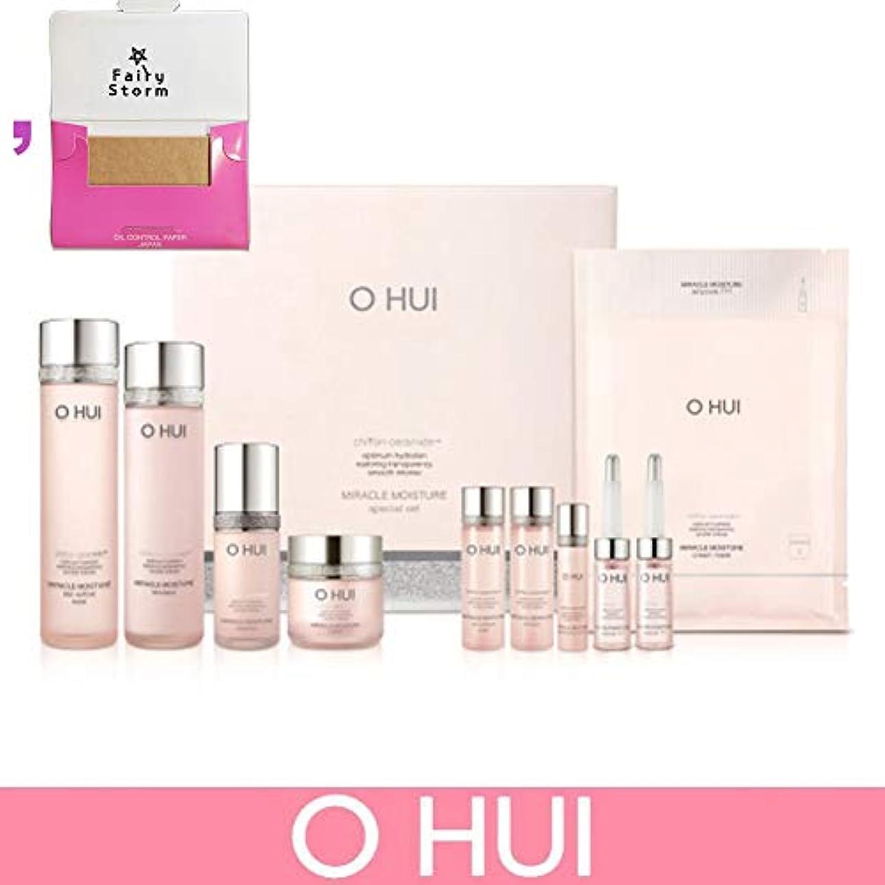 フィードうめき声害虫[オフィ/O HUI]韓国化粧品LG生活健康/Miracle Moisture 4 kinds of special set/ミラクルモイスチャー 4種のスペシャルセット+[Sample Gift](海外直送品)