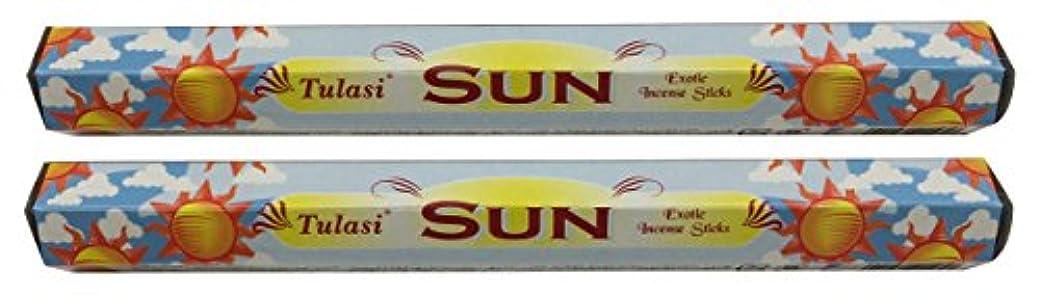 まっすぐにする咲く名前TULASI サラチ STICKS お香 40本入り SUN サン 640189-2