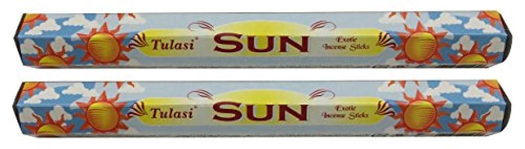 インドただ信じるTULASI サラチ STICKS お香 40本入り SUN サン 640189-2