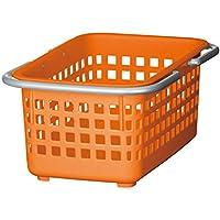 スカンジナビアスタイル ミニバスケット オレンジ