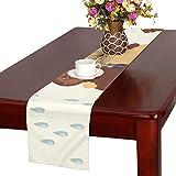 GGSXD テーブルランナー すばしこい ペルシア猫 クロス 食卓カバー 麻綿製 欧米 おしゃれ 16 Inch X 72 Inch (40cm X 182cm) キッチン ダイニング ホーム デコレーション モダン リビング 洗える