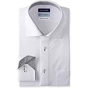 [ハルヤマ] HARUYAMA i-Shirt 完全ノーアイロン 360°ストレッチ 速乾 長袖 アイシャツ メンズ M151180094 ホワイト 日本 M80(首回り39cm×裄丈80cm)-(日本サイズM相当)