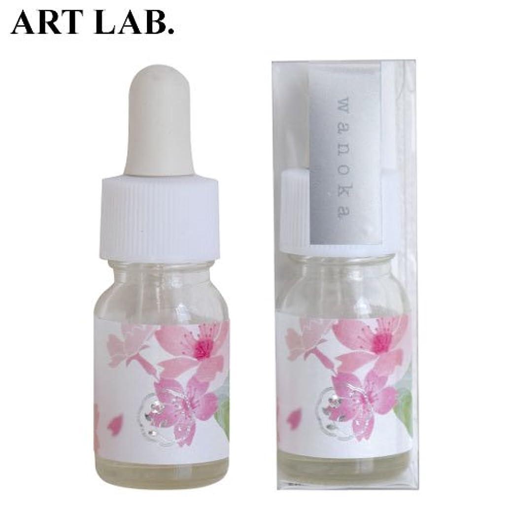 バトル代数的ドックwanoka香油アロマオイル桜《桜をイメージした甘い香り》ART LABAromatic oil