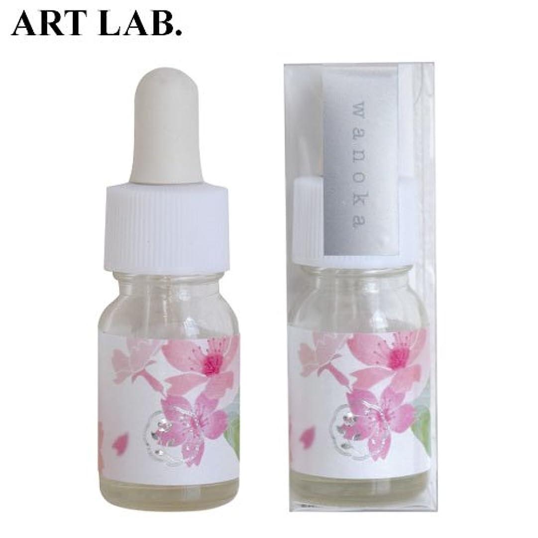 ヒューズ何十人もスペードwanoka香油アロマオイル桜《桜をイメージした甘い香り》ART LABAromatic oil