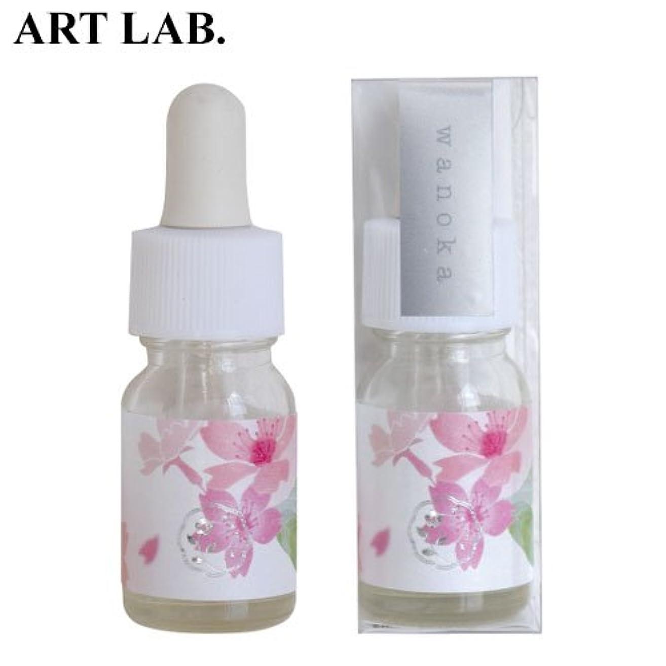 コンソール笑いフックwanoka香油アロマオイル桜《桜をイメージした甘い香り》ART LABAromatic oil