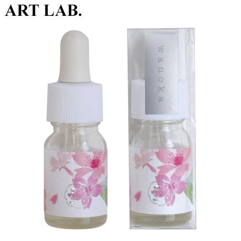 不運音楽雪のwanoka香油アロマオイル桜《桜をイメージした甘い香り》ART LABAromatic oil