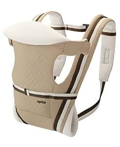 アップリカ ピッタ ラティスベージュ (新生児から使用可能) 収納ポーチ付き 39401