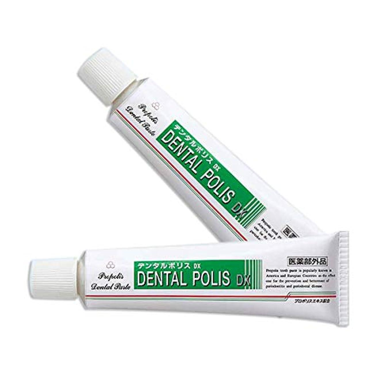 弾薬乳製品提供されたデンタルポリスDX 80g 2本セット [医薬部外品]