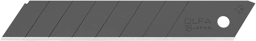 オルファ(OLFA) カッター替刃 特専黒刃(大) 10枚入 LBB10K