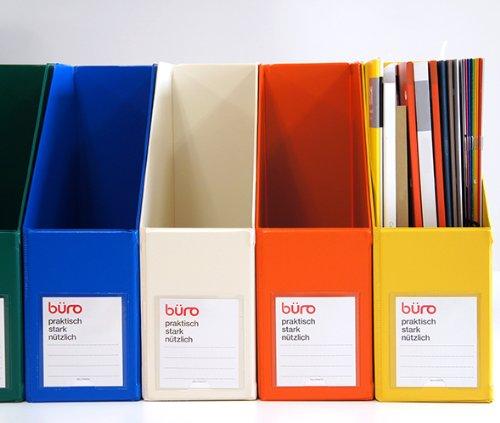 RoomClip商品情報 - 【DELFONICS】デルフォニックス ビュロー ファイルボックス 縦型(ダークブルー)