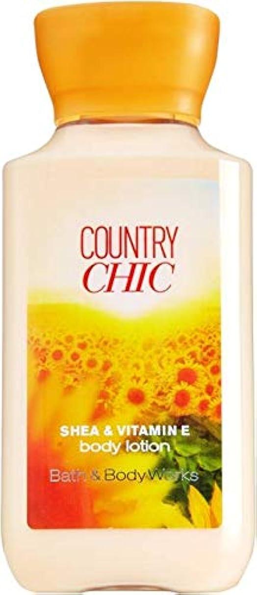 つぼみキャリッジリラックスバス&ボディワークス カントリーチック ボディローション トラベルサイズ Country Chic [並行輸入品]