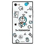 グルマンディーズ I'm Doraemon iPhoneSE(第2世代)/8/7(4.7インチ)対応 スクエアガラスケース 総柄 IDR-21B