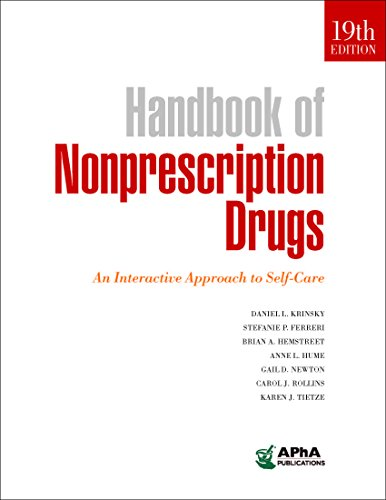 Download Handbook of Nonprescription Drugs: An Interactive Approach to Self-care 1582122652