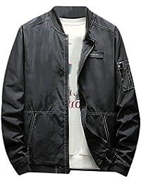 gawaga メンズ軽量ジャケット風防の屋外のウインドブレーカージャケット