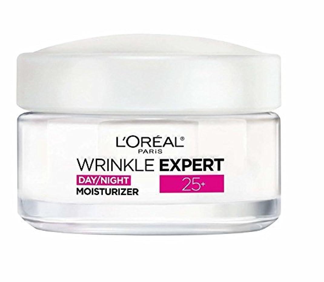収縮シーケンスバージンロレアル Wrinkle Expert 25+ Day/Night Moisturizer 50ml/1.7oz並行輸入品